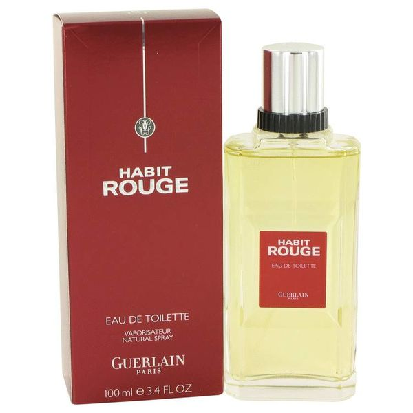 Guerlain Habit Rouge Men eau de toilette spray 100 ml