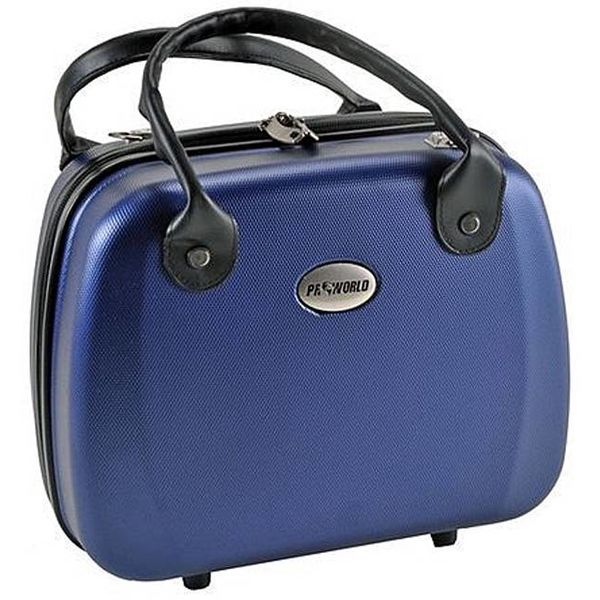 Beauty case ABS blauw