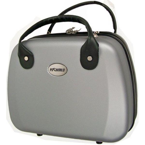 Beauty case ABS zilver