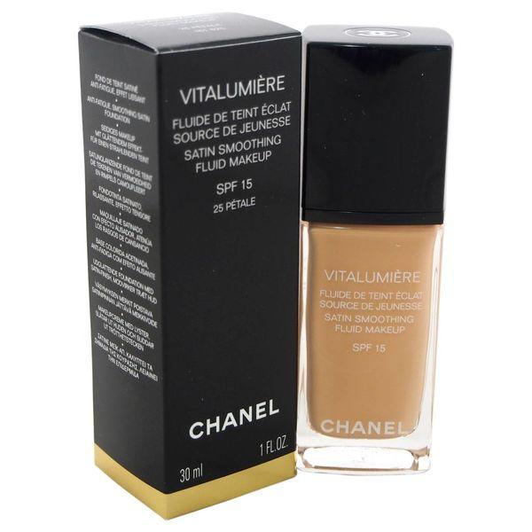 Chanel Vitalumiere Satin Smoothing Fluid SPF15  30 ml
