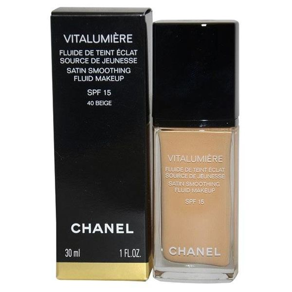 Chanel Vitalumiere Satin Smoothing Fluid SPF15 1 bottle 1 piece