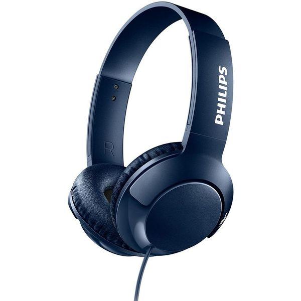 SHL3070BL/00 Koptelefoon BASS+ blauw