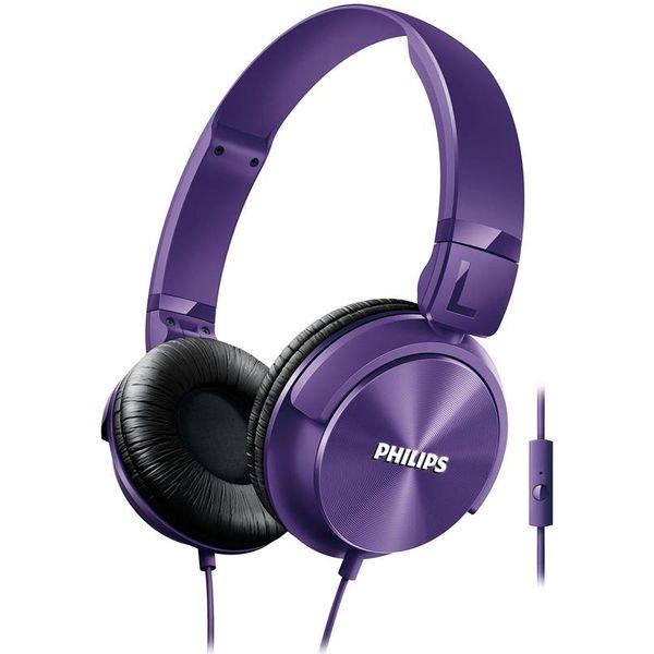SHL3065PP/00 Koptelefoon DJ-style met microfoon purple