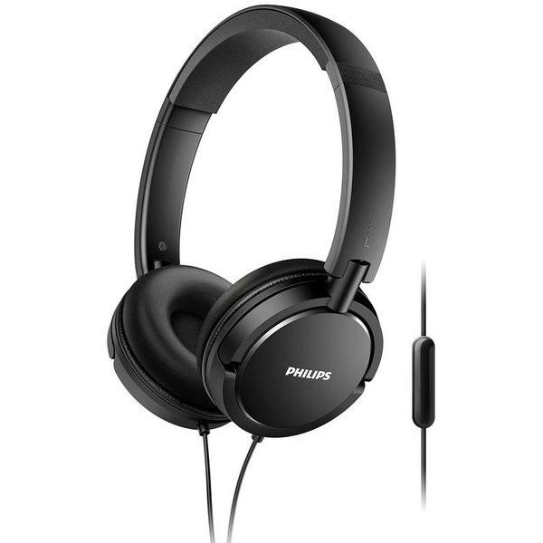 SHL5005/00 Koptelefoon + microfoon zwart