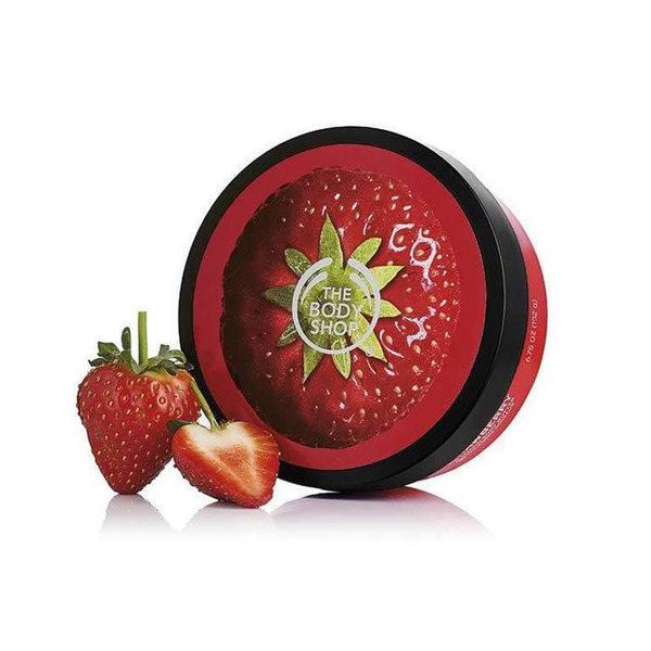 The Body Shop Body Butter Strawberry For Dry Skin 200 ml