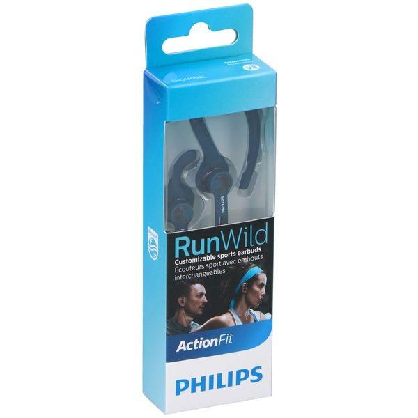 SHQ1400BL/00 RunWild oordopjes blauw