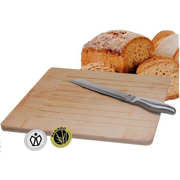 Broodsnijplank incl. broodmes