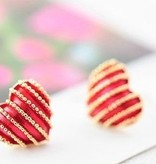 Knopjes rood hartje