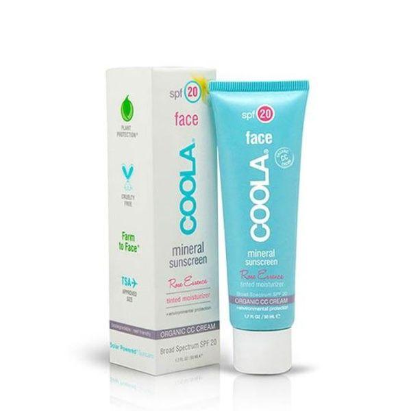 Coola Face Tinted Moisturizer SPF 20 Rose Essence  50 ml