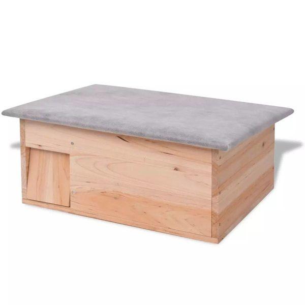 Egelhuis 45x33x22 cm hout