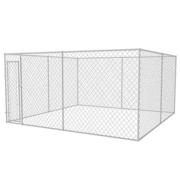 Hondenkennel voor buiten 4x4 m