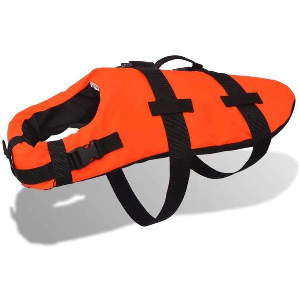 Honden reddingsvest M oranje