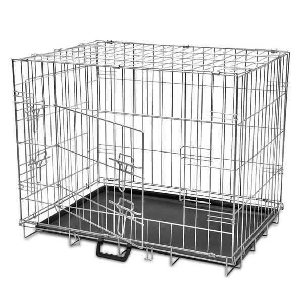 Hondenbench inklapbaar L metaal