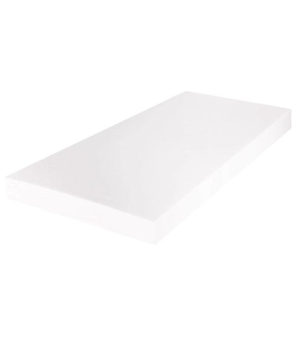 vidaXL Matras met een wasbare hoes 200x180x17 cm