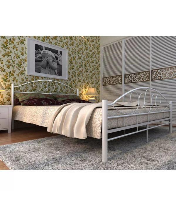 Topmatras 180 X 200 Cm.Vidaxl Metalen Bed Matras Topmatras 180 X 200 Cm Wit