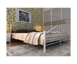 Matras 180 Lang : Vidaxl metalen bed inclusief matras cm wit