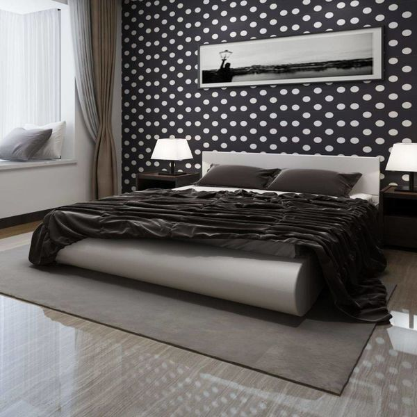 2-persoons bed Fluente wit 180 x 200 incl. matras