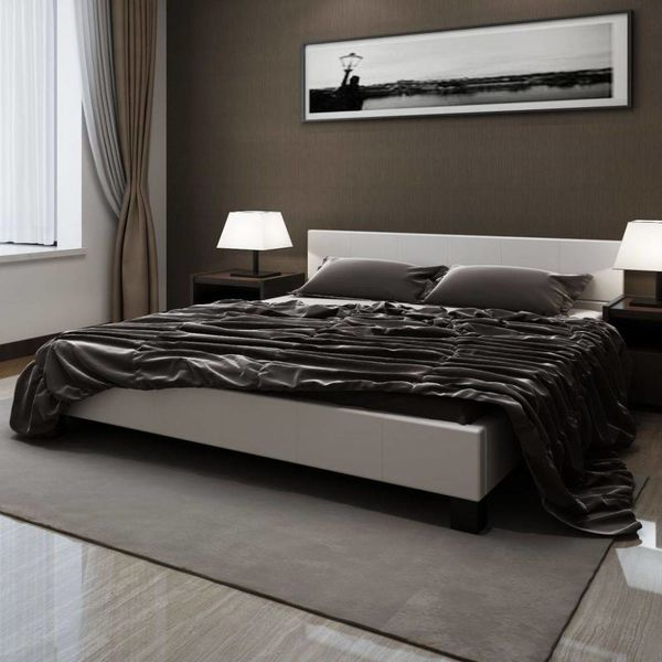 2-persoons bed Romantico wit 180 x 200 incl. matras