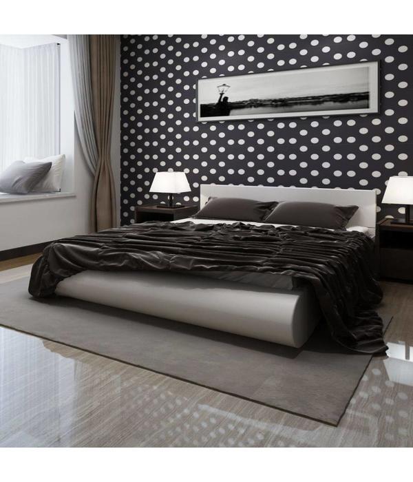 Wit Bed 2 Persoons.Vidaxl 2 Persoons Bed Romantico Wit 140 X 200 Voordeeltrends
