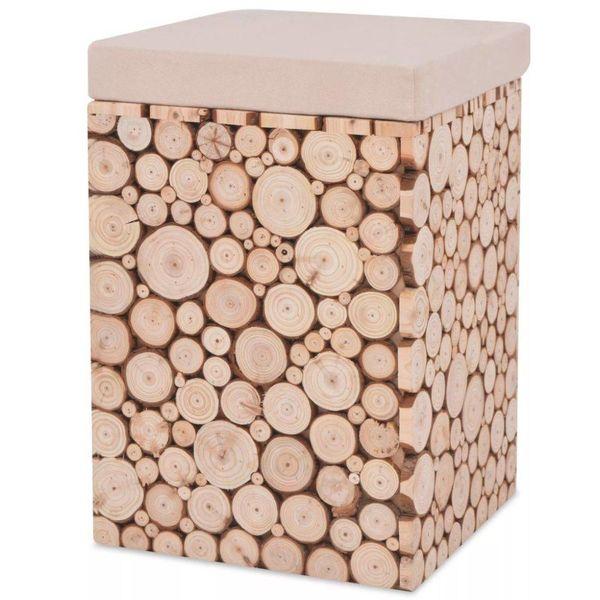 Kruk 30x30x40 cm echt hout