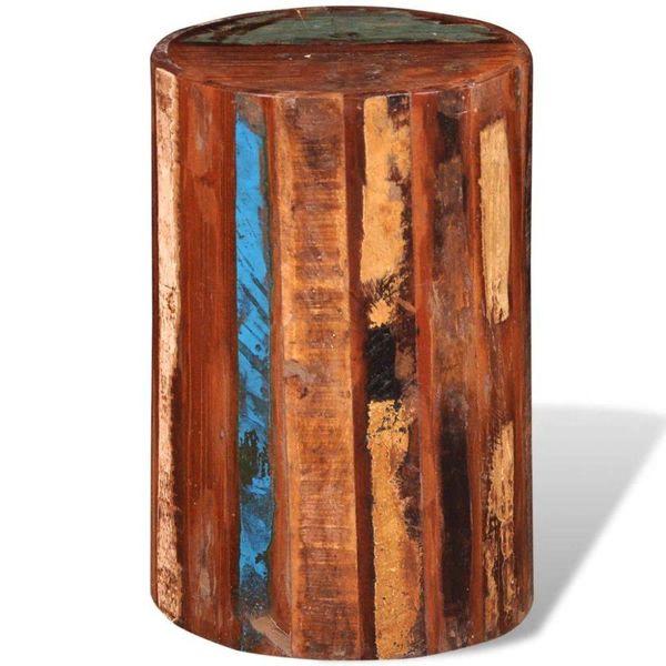 Krukje massief gerecycled hout