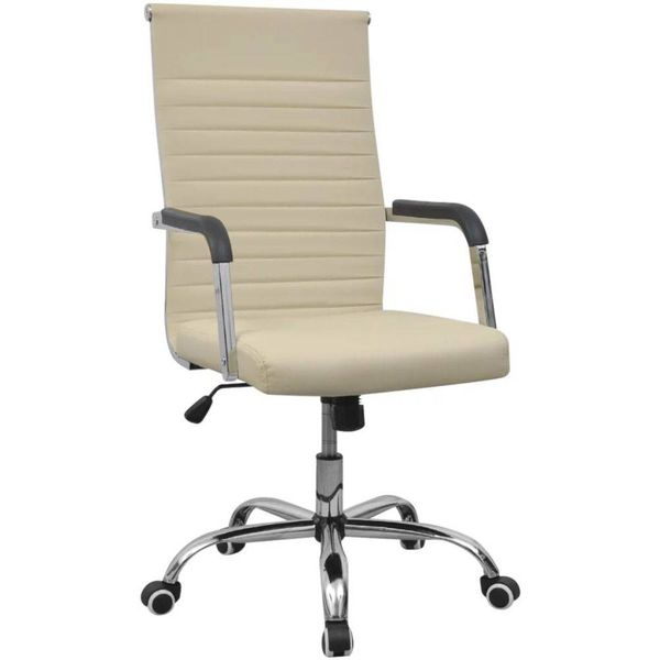 Bureaustoel Directie S210 Zwart Leer Met Hout.Bureaustoelen Voordeeltrends