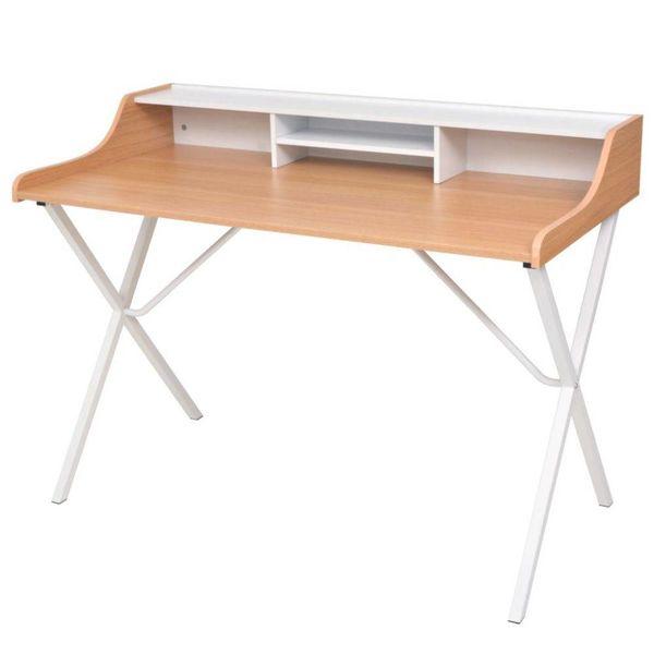 Bureau houten natuurlijk