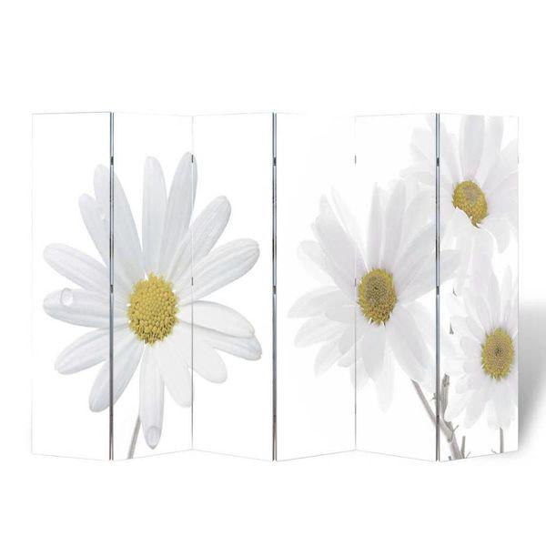 Kamerscherm 240 x 180 cm Bloemen