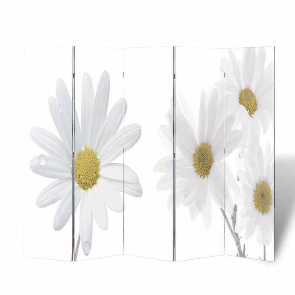 Kamerscherm 200 x 180 cm Bloemen