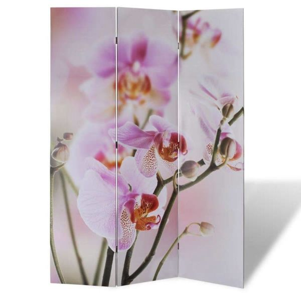 Kamerscherm 120 x 180 cm Bloemen