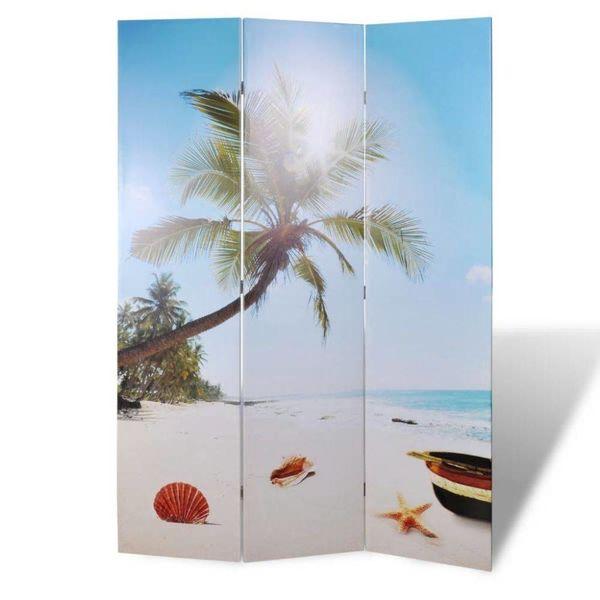Kamerscherm 120 x 180 cm Strand