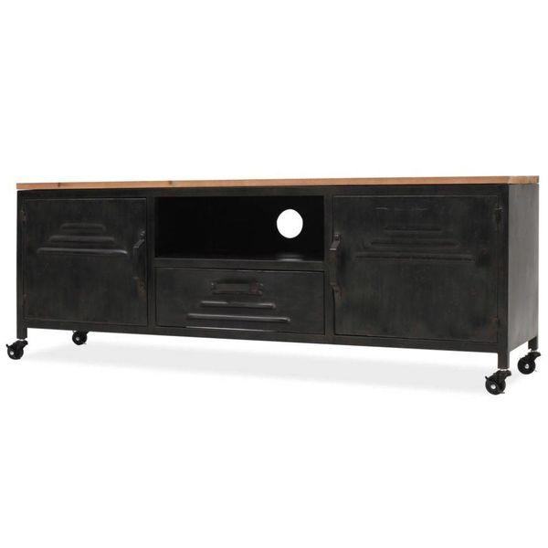 Tv-kast 120x30x43 cm zwart
