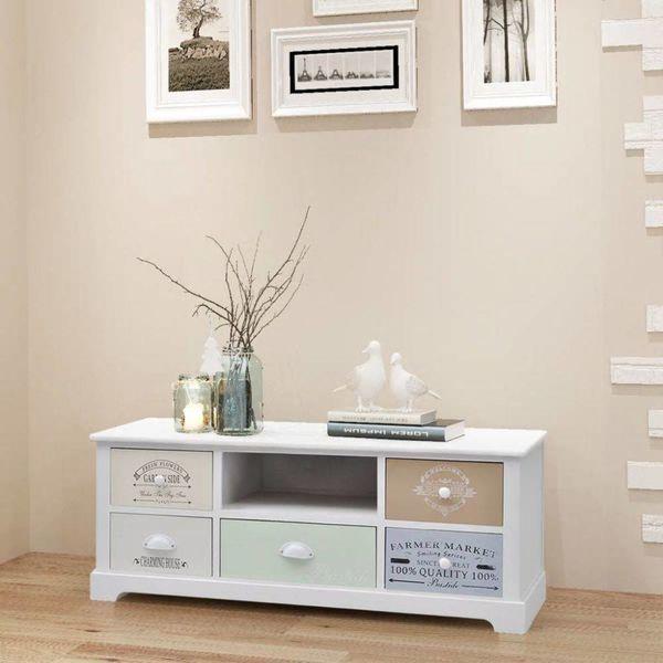 Frans tv-meubel hout