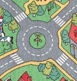 vidaXL Speeltapijt 120x160 cm lussenpool stadswegenpatroon