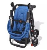 vidaXL Buggy blauw 102x52x100 cm