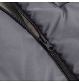 vidaXL Baby voetenzak/wandelwagen slaapzak 90x45 cm grijs