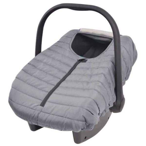 Hoes voor babydrager/kinderzitje 57x43 cm grijs