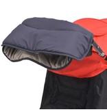 vidaXL Handwarmer voor wandelwagen 55x25 cm marineblauw
