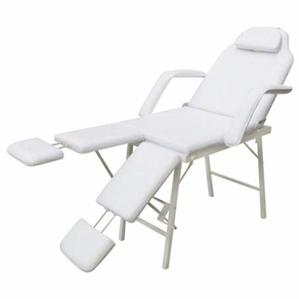 Behandelstoel met verstelbare beensteunen