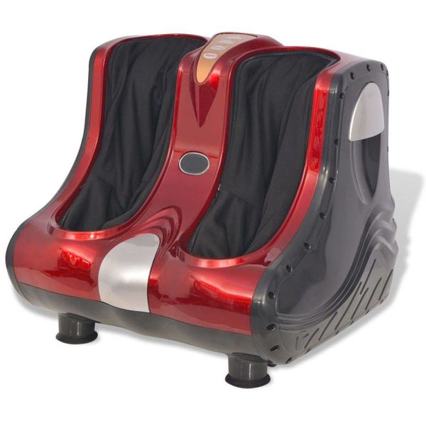 Shiatsu voet- en kuit massageapparaat rood