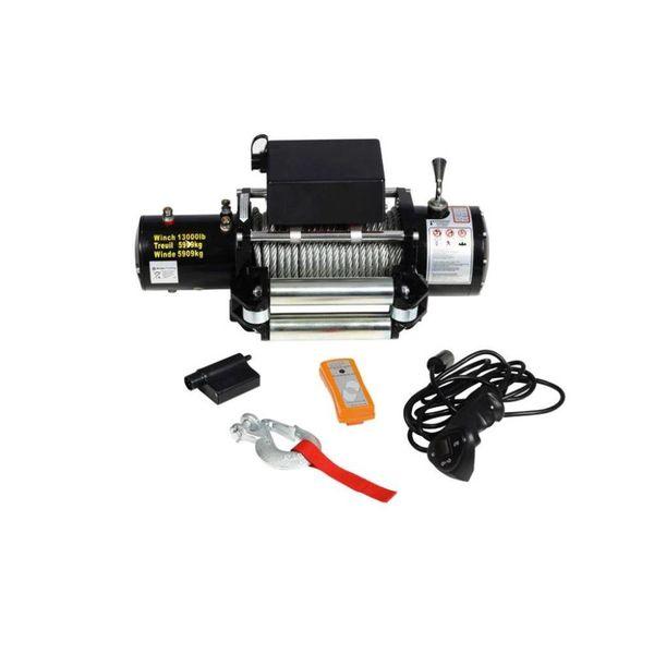 Lier elektrisch 12v 5909 kg met afstandsbediening EOL