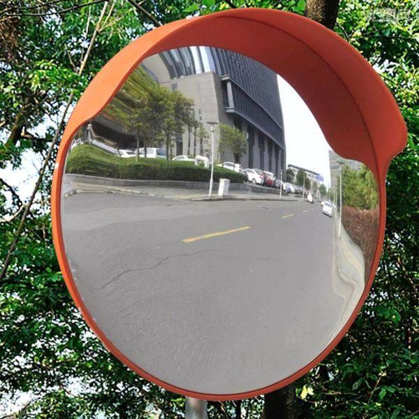 Verkeersspiegel voor buiten 45 cm oranje