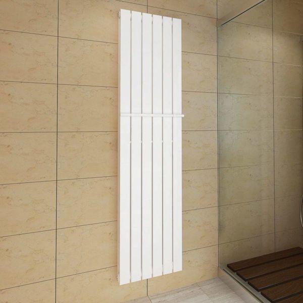 Dubbel verwarmingspaneel + handdoekenrek 465x1800 / 465 mm