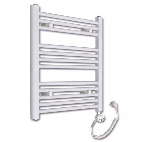 Design radiator met thermostaat 600 x 764 mm (recht model)