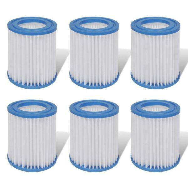 Filter set 6-delig voor filterpomp 300 gal/H