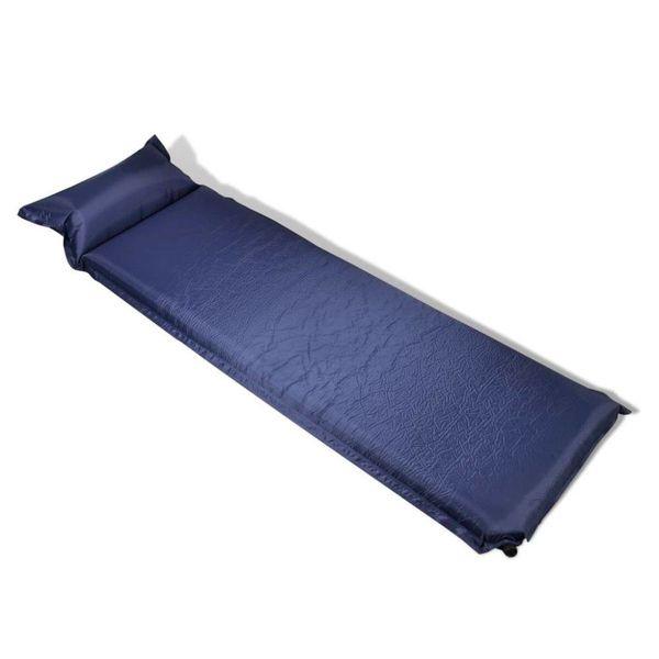 Luchtmatras 10 x 66 x 200 cm blauw