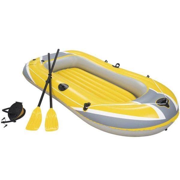 Hydro-Force Opblaasbare boot met roeispanen en pomp 61083