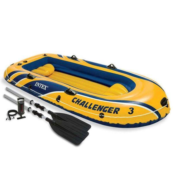 Challenger 3 opblaasboot met peddels en pomp 68370NP