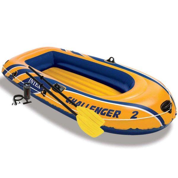 Challenger 2 opblaasboot met peddels en pomp 68367NP