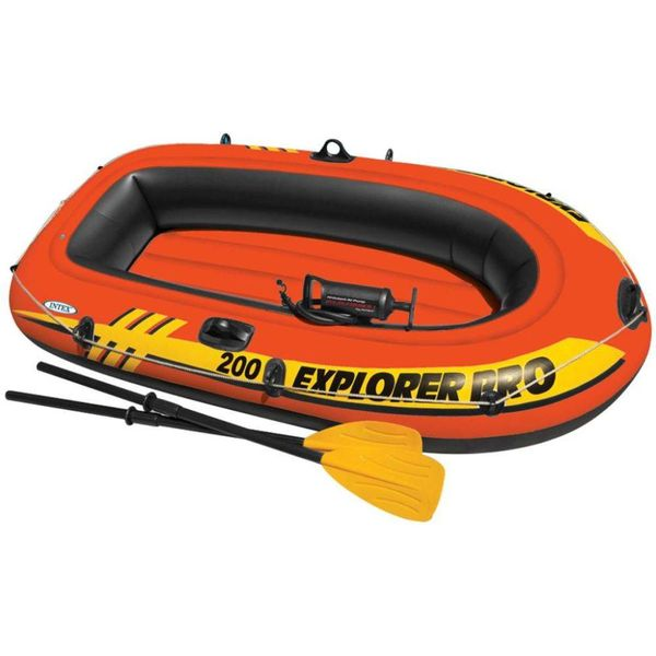 Explorer Pro 200 opblaasboot met peddels en pomp 58357NP